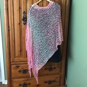 Pink ombré wrap/scarf
